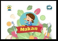 (Ayo) Makan: Buku Bacaan untuk Anak Berlatih Membaca (PDF)
