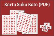 Kartu Suku Kata (PDF)